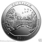 2011 Chickasaw 5 Oz 999 Silver America the Beautiful ATB Coin