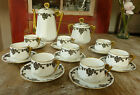 Art Deco extremely Rare Splendid French Porcelain of Limoges coffee / tea set