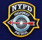 NYPD Highway Patrol Patch
