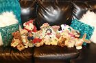 Lot Of 21 Boyds Bears (Various Collections, Retired, Ltd Edition) Plush W Tags!