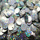 NEW DIY 10 mm 120pcs shiny Round  loose sequins PaillYPtes sewing Wedding YP11