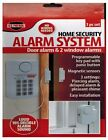 Home Security Alarm System Wireless Door & Window with Key Pad Panic Button New