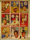 VINTAGE BASEBALL CARD SET LOT TY COBB HONUS WAGNER BABE RUTH LOU GEHRIG CLEMENTE