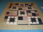 Pieced Patriotic Wallhanging  Pillow Quilt Top Block