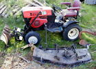Sears Suburban SS14 Garden Tractor with Mower and Plow Tractor Pull
