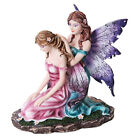 Fairy Sisters Styling Hair Statue Sculpture Mystical Magic Figure HOME DECOR