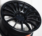 17X825 XXR 550 WHEEL 5X100 1143 +19 FLAT BLACK RIM FITS MITSUBISHI ECLIPSE