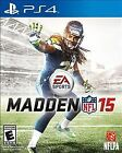 Madden NFL 15 (Sony PlayStation 4, 2014) ps4 w Case