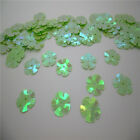NEW DIY13mm 100pcs shiny flowers loose sequins Paillettes sewing Wedding RCW02