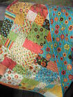 Patchwork QUILT PATTERN Fat Quarters beginner quick fast easy
