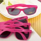 40 Personalized Hot Pink Sunglasses Wedding Shower  Party Favors