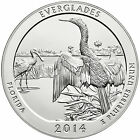 2014 America the Beautiful 5oz Silver Coin Everglades National Park