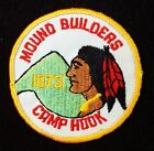 BOY SCOUT  CAMP HOOK 1973  MOUND BUILDERS COUNCIL OHIO