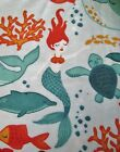 Snuggle Flannel Multi Color Mermaids  Ocean Life Apparel Quilting BTYNew