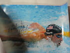 MICHAEL PHELPS SIGNED 16X20 PHOTO TEAM USA