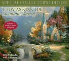 Thomas Kinkade Special Collectors Edition with Scripture 2016 Deluxe Wall Calen