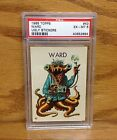 WARD 1965 Topps Ugly Stickers MONSTER # 43 PSA 6 EX-MT SUPER LOW POP