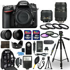 Nikon D7200 Digital Camera + 18 55mm + 70 300mm + 30 Piece Accessory Bundle
