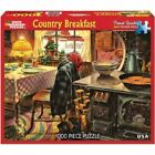 White Mountain Puzzles Country Breakfast - 1000 Piece Jigsaw Puzzle New