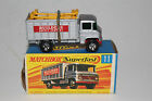 MATCHBOX LESNEY SUPERFAST #11 MERCEDES SCAFFOLDING TRUCK, EXCELLENT, BOXED