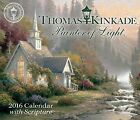 NEW Thomas Kinkade Painter of Light with Scripture 2016 Day to Day Calendar
