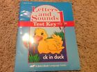 Abeka Letters and Sounds Test Key Grade 1