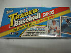 1992 Topps BB (132) Traded Factory Complete Set Sealed MINT NOMAR RC