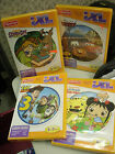 Lot 4 FISHER PRICE iXL Learning Games NEW Ages 3-7 CARS TOY STORY 3 SCOOBY DOO +