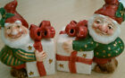 Fitz & Floyd Kris Kris Kringle F & F Addition Salt & Pepper Set Lot of (2) NEW
