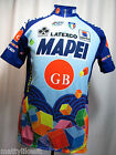 1996 Sportful  LATEXCO MAPEI GB  Cycling Race Jersey XL Colnago UCI Short Zip