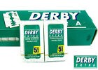 DERBY EXTRA Razor Blade Men Double Edge 10 Blades Shave Classic Sharp Green Box
