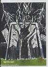 Unstoppable Cards Night of the Living Dead NotLD Sketch Card Justice hand