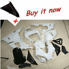 UNPAINTED Plastic Fairing Set Body Work For YAMAHA YZF R1 YZF-R1 1998-1999 98 99