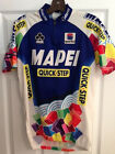 Mens Bicycle Jersey Mapei Quick Step Team Jersey Large Club Cut