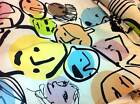 Amazing Ikea Fabric BECKMANS College of Design Faces Large Print Cotton