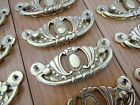 10 X ORNATE BRASS DRAWER PULL HANDLES CUPBOARD FURNITURE DOOR KNOBS