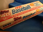 1991 TOPPS BASEBALL - FACTORY SET (792) CARDS ! MLB HOFers ! SEALED RETAIL BOX !