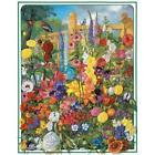 White Mountain Puzzles Perennials - 1000 Piece Jigsaw Puzzle New