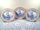 Churchill, American Heritage Millennium Collection, Salad Plates, Three Plates