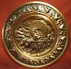 COPPERCRAFT GUILD COPPER VINTAGE TAUNTON MASS WALL PLAQUE COVERED WAGON