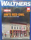 HO Scale Model Railroad Trains Layout Jim's Red Owl Store Walthers Building Kit