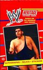 2012 TOPPS WWE HERITAGE Wrestling Sealed HOBBY BOX Auto Autograph Relic Card WWF