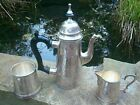 Lovely condition, heavy coffee set epns