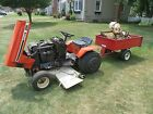 1984 CASE 224 Garden Tractor with Attachments