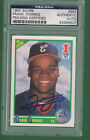FRANK THOMAS 1990 SCORE #663 SIGNED AUTO PSA DNA SLABBED RC ROOKIE