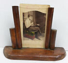 Vintage Wooden Art Deco Picture Frame 1930's