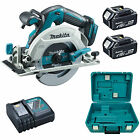 MAKITA 18V DHS680 CIRCULAR SAW, 2 x BL1840 BATTERIES, DC18RC CHARGER
