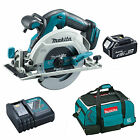 MAKITA 18V DHS680 CIRCULAR SAW BL1840 BATTERY DC18RC CHARGER & 4 PIECE BAG