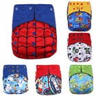 Happy Flute AIO Cloth Diaper Reusable Diapers for Baby Breathable Bamboo diapers