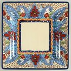 Square Dinner Plate - Toluca by Tabletops Unlimited - Hand Painted - 10 3/4
